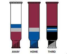 Fulton HKS Colorado Avalanche Team Knit Ice Hockey Socks
