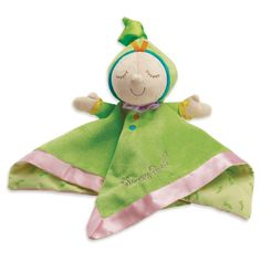 The Manhattan Toy Company Infant Toddler Snuggle Pods Sweet Pea Plush Blanket