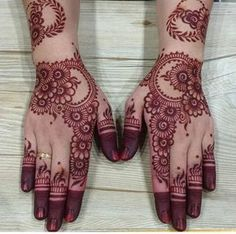 Floral Latest Mehndi Designs 2019 For Hands, There is the growing trend of mehndi designs, also known as henna tattoo designs which is now the main element for women. Mehandi Designs Images, Hena Designs, Mehndi Design Pictures, Dulhan Mehndi Designs, Wedding Mehndi Designs, Latest Mehndi Designs, Mehndi Designs For Hands, Henna Mehndi, Mehndi Images