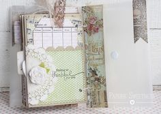 Sizzix Die Cutting Inspiration and Tips: Journal for Mom.  For faith inspired journaling visit www.journaling4faith.com.