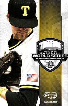 Baseball social media graphics for Tyler Junior College; Junior College, Social Media Graphics, Baseball Cards, Sports, Design, Hs Sports, Sport, Design Comics