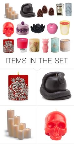 """Candles"" by teenwarrior ❤ liked on Polyvore featuring art"