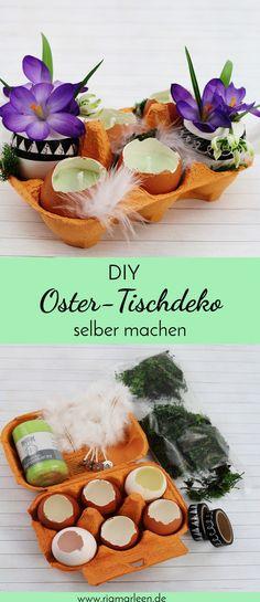 DIY Oster-Tischdeko | DIY Ostern | Osterdeko selber machen