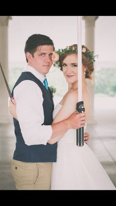 Harry Potter and Star Wars Wedding