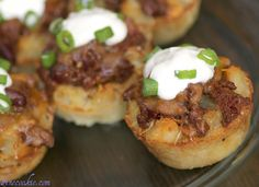 Chilli Cheese Fry cups.