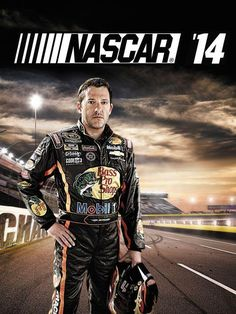 Tony... voted by the fans to grace the cover of the latest Nascar video game...