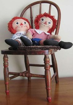 Raggedy Anne and Andy