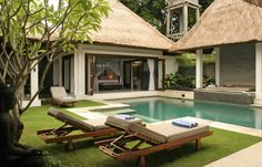 Open air living.  This is the style of pool I want.