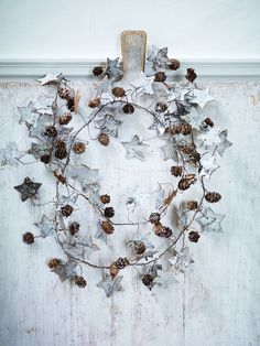 Winter wreath-Wistfully Country