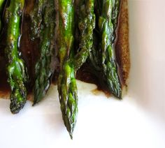 Balsamic-Browned Butter Asparagus via the Food Charlatan