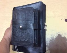 Jehovah's Witnesses. Preaching folder . engraved Leather.for Bible, magazines, and tablet With zipper. JW.