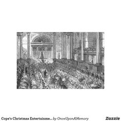 Cope's Christmas Entertainment, Liverpool Canvas Print