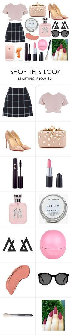 """""""Grateful"""" by bella-has-a-galaxy ❤ liked on Polyvore featuring interior, interiors, interior design, home, home decor, interior decorating, Oasis, Asilio, Christian Louboutin and Elie Saab"""