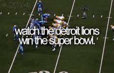 my never-happen wish  I <3 Detroit