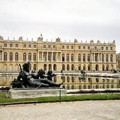 Versailles, France. This is a very large palace. So beautiful to wonder through.