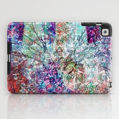 Technicolour Cherry Blossom iPad Case  + Free Shipping
