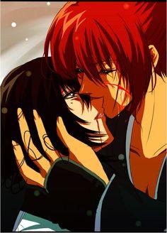 Yukishiro Tomoe & Himura Kenshin,Hitokiri Battosai - Samurai X: Reflection,Anime