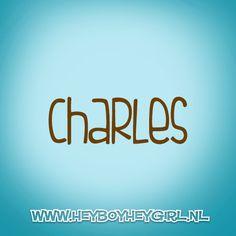 Charles (Voor meer inspiratie, en unieke geboortekaartjes kijk op www.heyboyheygirl.nl)