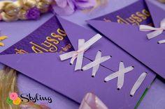Tangled + Rapunzel Birthday Party via Kara's Party Ideas: The Invite
