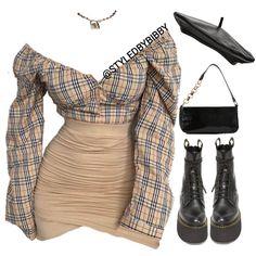 Collections by styledbybibby Boujee Outfits, Cute Swag Outfits, Teen Fashion Outfits, Stage Outfits, Retro Outfits, Classy Outfits, Polyvore Outfits, Look Fashion, Stylish Outfits