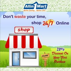 Don't waste your time, shop Online Best Savings, Online Supermarket, Time Shop, Wellness, Life, Shopping