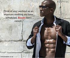 Schedule your workout like an appointment! #Work #Motivation #Inspiration #Exercise #Fitness #Fit #Training #Emstraining #BODYTECSA