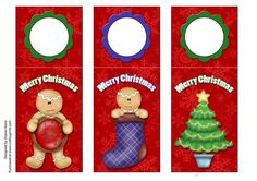 - Ginger Bread Wine Tags are approx in. There is also a guide like for the fold.They say Merry Christmas and are great fo. Christmas Tag, Christmas Ornaments, Wine Tags, Ginger Bread, Matching Set, Embellishments, Paper Crafts, Seasons, Holiday Decor