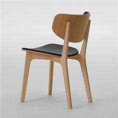 Roundish Chair - Upholstered Seat - Maruni - Switch Modern