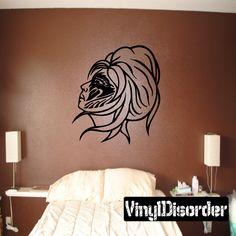 Fantasy Princess Wall Decal - Vinyl Decal - Car Decal - DC 23008 & Fox Racing Logo Wall Decal with MX Dirt Bike - vinyl wall decor ...