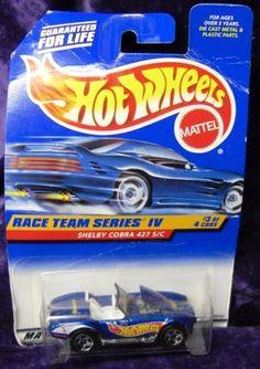Mattel Hot Wheels 1998 1:64 Scale Race team Series IV Blue Shelby Cobra 427 S/C Die Cast Car 3/4 by Mattel. $0.99. Mattel Hot Wheels 1998 1:64 Scale Race team Series IV Blue Shelby Cobra 427 S/C Die Cast Car 3/4