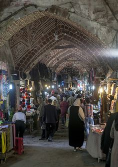 Inside The Old Bazaar, Tabriz, Iran Iran Pictures, Visit Iran, Teheran, Museum Poster, Journey To The West, Luxor Egypt, Environmental Art, Historical Pictures, Beautiful Buildings