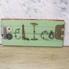 Believe sign Industrial Sign Steampunk Sign by oZdOinGItagaiN, $25.00