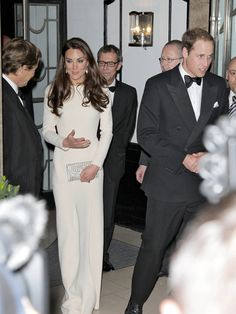The Duke and Duchess of Cambridge attend the exclusive Thirty Club at Claridge's in London.
