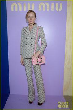 Diane Kruger Goes Glam for Miu Miu Show in Paris!