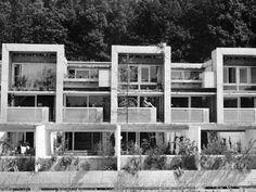 Siedlung Halen, Atelier 5, 1957-61 - Balcony and brise soleil details