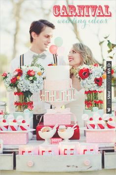 carnival wedding ideas - love this color combo so much! | CHECK OUT MORE IDEAS AT WEDDINGPINS.NET | #weddings #weddinginspiration #inspirational