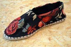 Wild Roses: Sommer-Espadrilles selbst gemacht | monochrome
