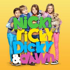 nicky ricky dicky and dawn. cute little show