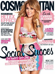 Cosmo Nederlands Lauren Conrad Cover April 2014