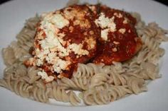 """Eggplant """"Parmesa"""" w/Feta from a year of slow cooking...hope the kids dig it because I love eggplant!"""