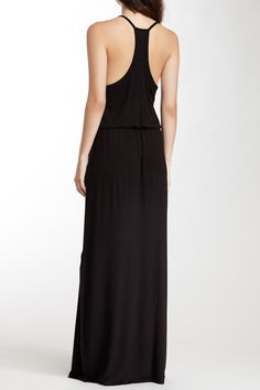 Drawstring Maxi Dress by Loveappella on @HauteLook