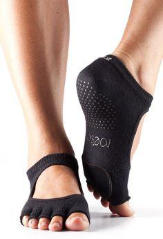 Toesox Half-Toe Full Sock