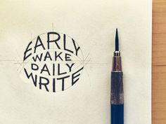 Early Wake Daily Write – One million words in a year? http://seanwes.com/2015/early-wake-daily-write/