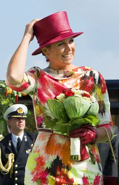 King Willem-Alexander and Queen Maxima visit region Noord-Holland 12sept.