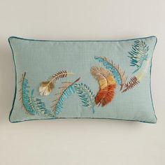 Feathers Lumbar Pillow | World Market