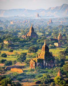 The most magical place I have ever seen: Bagan, Burma (Myanmar) / Hayatımda…