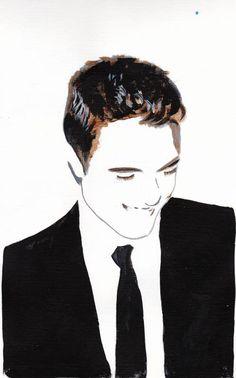 More Fabulous Robert Pattinson Paintings