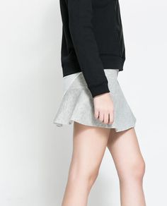 ZARA - NEW COLLECTION - FLARED SKIRT