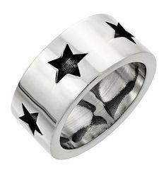 Star Band Ring. #forher #giftforher #women #gift #jewelery #bikeporn #bobberporn #custom #custommade