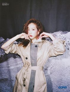 Taeyeon Tommy Hilfiger 2018 F/W Collection Sooyoung, Yoona, Kpop Girl Groups, Korean Girl Groups, Kpop Girls, Taeyeon Fashion, Kpop Fashion, 2ne1, Girls Generation